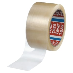TESA 4280 CARTON SEALING PP TAPE 50*66M TRANSPARENT PACK OF 6