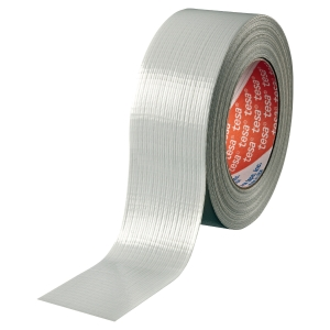 Tesa 4662 fabric tape 48 mm x 50 m silver