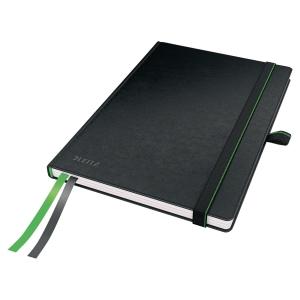 Notesbog Leitz Complete, A5, linjeret, sort