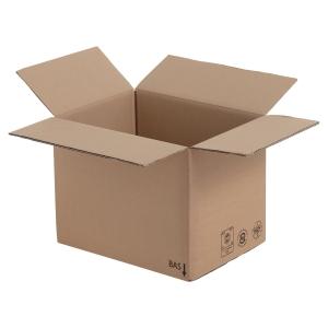 Amerikaanse doos kraft dubbele golf 500 x 300 x 300 - pak van 20