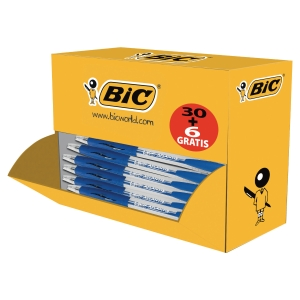 Bic Atlantis value pack 30 + 6 gratis blauw