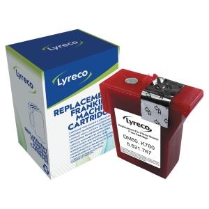 Blækpatron Lyreco K780001 kompatibel Pitney Bowes rød