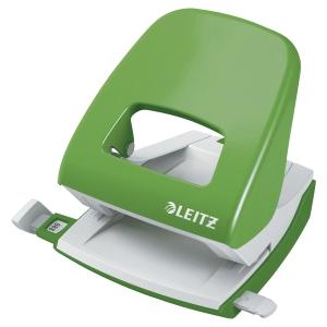Perforatore a 2 fori Leitz Wow 5008 verde chiaro fino a 25 fogli