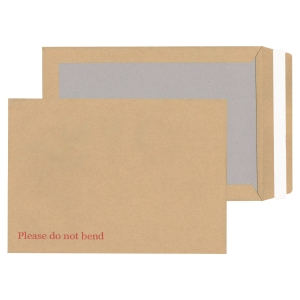 Lyreco Board-Back Manilla Envelopes C4 P/S 115gsm - Pack Of 125