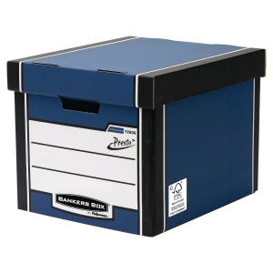 FELLOWES BANKERS BOX BLUE TALL PREMIUM BOX H298 X W330 X D381MM - PACK OF 10
