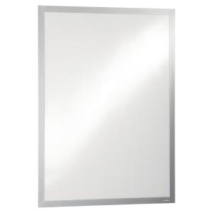 Durable 4997-23 Duraframe Poster zelfklevend kader, A1, zilver, per stuk