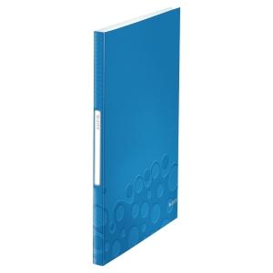 利市 WOW 40頁資料簿 A4 藍色