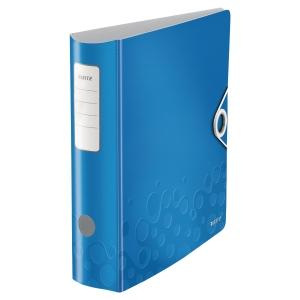 Leitz WOW Active ordner 180°, PP, 80 mm, blauw