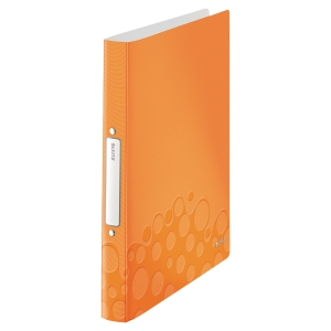 Leitz Wow 4257 A4 2-Ring Binder Polypropylene Orange