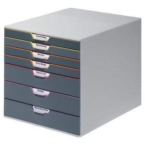Durable Variocolor modele de rangement 7 tirroirs assorti