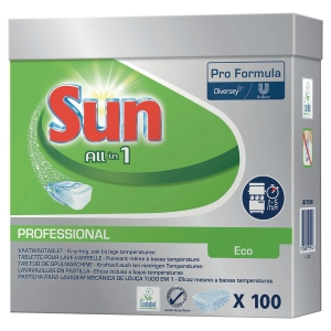 PK100 SUN PRO ECO ALL IN 1 DISHWASH TABS