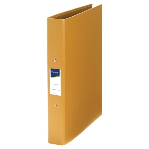 Lyreco 2O Ring Binder A4 40mm Yellow