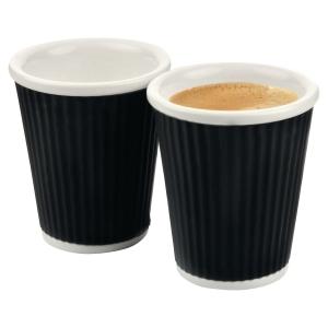 Cep break kahvikuppi 18cl musta