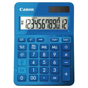 CANON K-SERIES DESK CALCULATOR BLUE