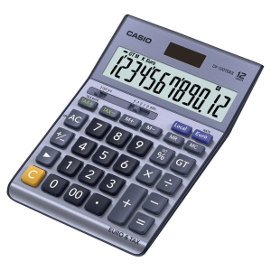 Casio DF450TER II desk calculator gray - 12 numbers