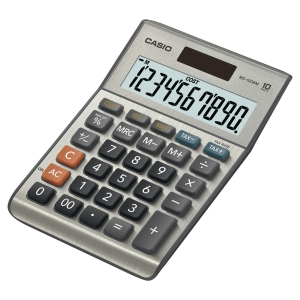 Casio MS-100BM  desktop calculater grey - 12 numbers
