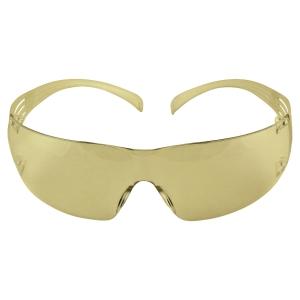 3M SecureFit SF201AF védőszemüveg, borostyánsárga