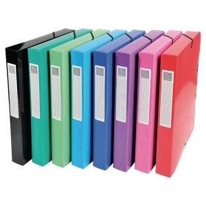 Exacompta sorteermap in karton assorti kleuren - pak van 8