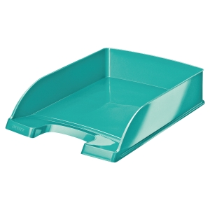 Leitz WOW Letter Tray Ice Blue