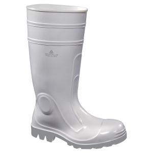 Bezpečnostné gumené čižmy DELTA PLUS VIENS2 S4 SRC biele, veľkosť 42
