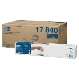 Tork 17840 szalvéta 1-rétegű fehér, 9 000 darab/csomag