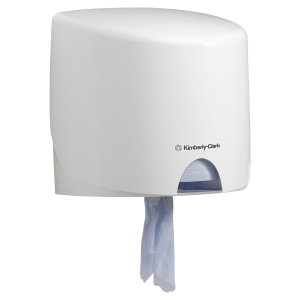 Dispensador de bobina industrial Kimberly-Clark Aquarius - blanco