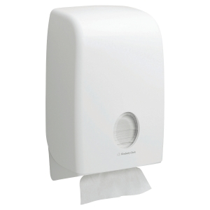 Dispensador de toallas secamanos Kimberly-Clark Aquarius - blanco