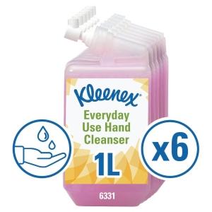 Pack de 6 recargas de jabón líquido Kleenex Aquarius - 1 L