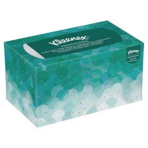 Caja dispensadora de 70 toallas secamanos interplegadas Kleenex Ultra Soft