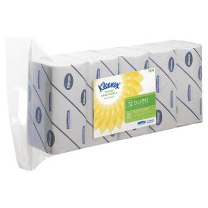 Pack de 5 paquetes de toallas KLEENEX interplegadas en W 124 hojas 2 capas