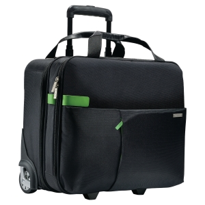 TROLLEY CARRY-ON SMART TRAVELLER LEITZ NERO
