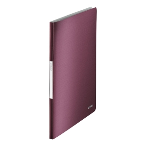Leitz Style 20 Pocket Display Book A4 Garnet Red