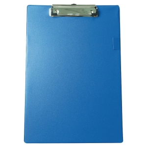 Base PVC con clip - 230 x 340 mm - azul
