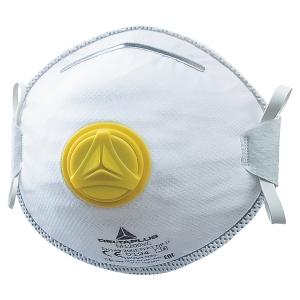 Delta Plus M1200VC wegwerp mondmaskers FFP2 met ventiel - doos van 10