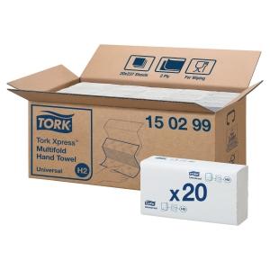 Håndklædeark Tork Xpress Universal pakke a 20 stk.