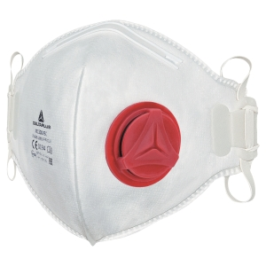 BOX OF 10 DELTAPLUS M1300VB MASK FFP3 WITH VALVE