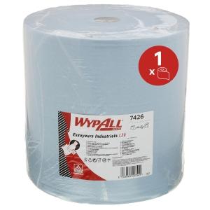 Bobina industrial Wypall - 285 m - 3 capas - azul