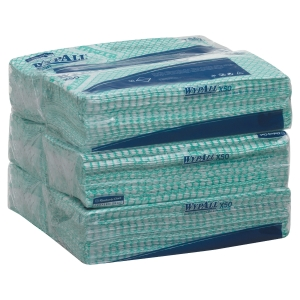 Pack de 50 paños industriales Wypall X50 - verde