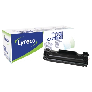 Cartouche laser remanufacturée Lyreco pour HP Laserjet M12X noire