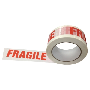 PK6 FRAGILE PP NO NOISE PACKTAPE 50X100M