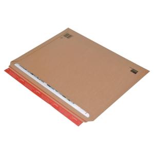 ColomPac Faltenversandtasche 570 x 420 50 mm, braun