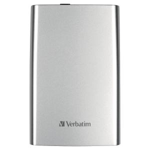 DISQUE DUR VERBATIM 2,5   USB 3.0 2TO ARGENT