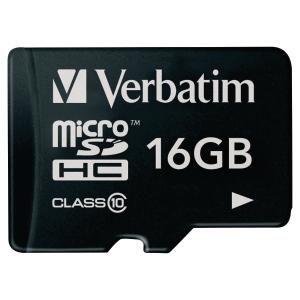 Verbatim Micro SD Speicherkarte, 16 GB