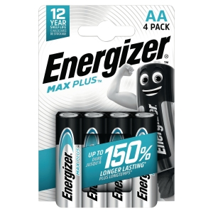 BATTERI ENERGIZER ALKALINE ECO ADVANCED AA/LR6 PAKKE Á 4 STK