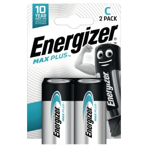 Energizer Eco Advanced alkaline batterijen C - pak van 2