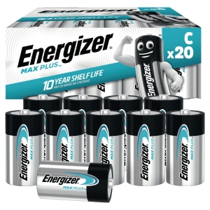 Batterien Energizer Advanced C, LR14/E93/AM2/Baby, 1,5V, Pk. à 20 Stk.