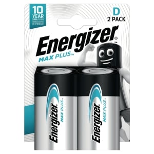 Energizer Eco Advanced alkaline batterijen D - pak van 2