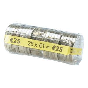 Münzrollen Safetool FA62262, 1 EURO, 100 Stück