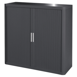 PAPERFLOW CUPBOARD 1M CHARCOAL