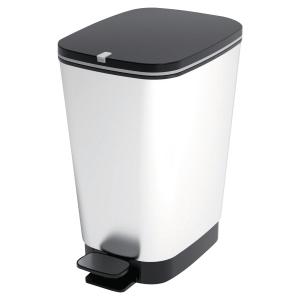 Abfalleimer geruchsdicht CEP, Fassungsvermögen 6 l, grau